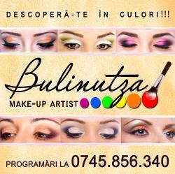 Bulinutza Make-Up Resita:Bulinutza Make-Up, Make-up evenimente, make-up mirese, foto-video, Resita