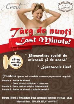 Targul de nunti: Last Minute Resita:Targul de nunti - Last Minute - 2014, 15-16 martie 2014 - Targ de nunta Last Minute 2014 Resita