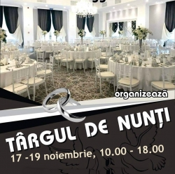 Targ de Nunti Resita by ValMediaEvents :Targ de Nunti Resita by ValMediaEvents , 17-18 Noiembrie 2018, la ROGGE Ballroom Resita