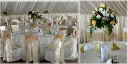 Events Solution Timisoara:Events Solution, Organizari nunti-botezuri, invitatii nunti, botezuri, huse scaune, aranjamente florale, Timisoara