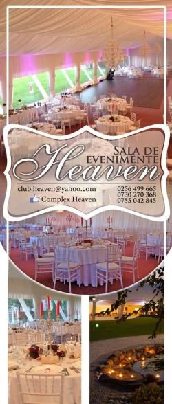 Sala Evenimente Heaven Ballroom:Sala Evenimente Heaven Ballroom, Organizare evenimente, nunti, banchete, petreceri corporate, Timisoara