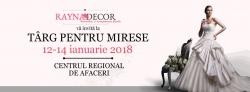 Targ de nunta: Targ pentru mirese - 2018 Timisoara:Targ de nunta: Targ pentru mirese - 2018, 12-14 ianuarie 2018 - Targ nunti CRAFT (Centrul Regional de Afaceri Timisoara)